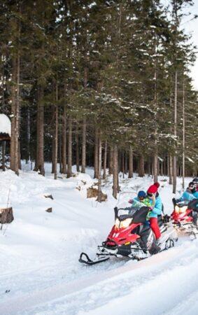 Na skuterze śnieżnym przez malownicze, górskie tereny!